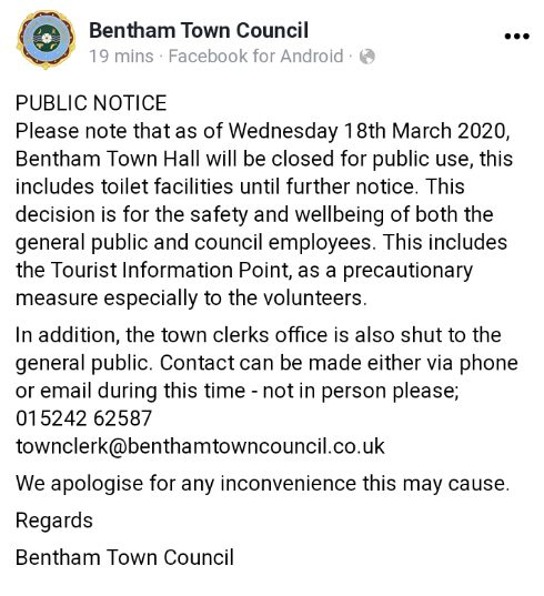TownHallClosure